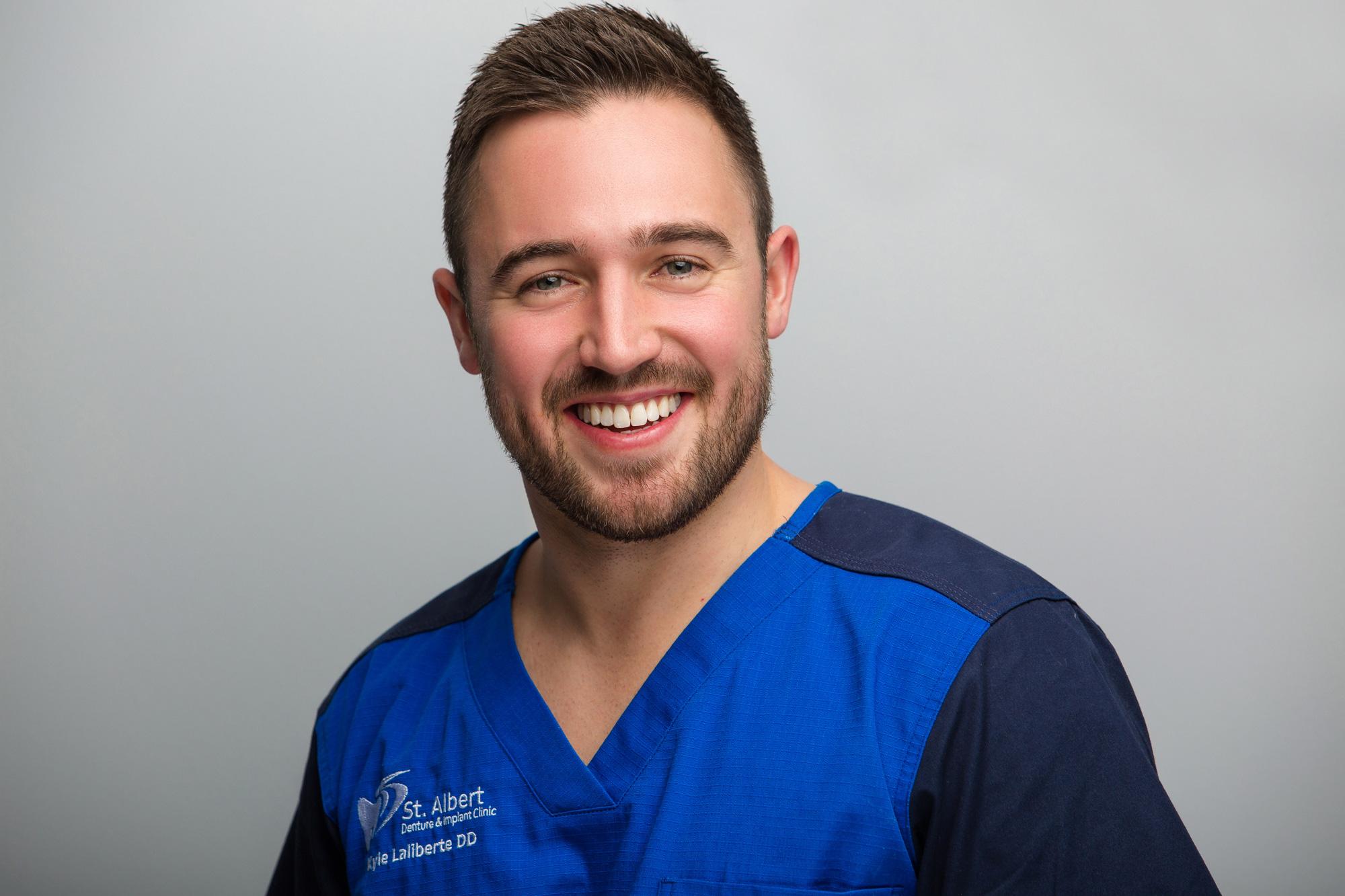 Kyle Laliberte Denturist Smiling