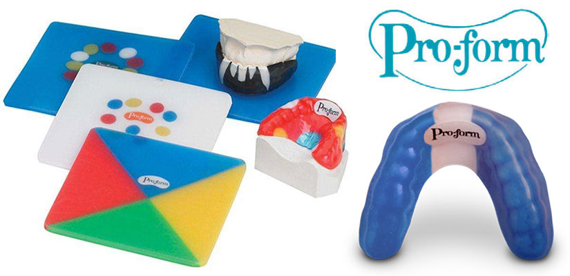 Pro-form mouth guards